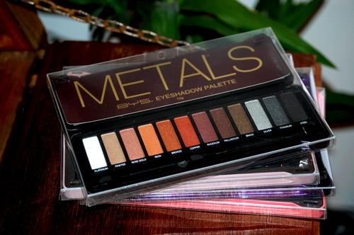 Packaging palettes ombres à paupière BYS Maquillage