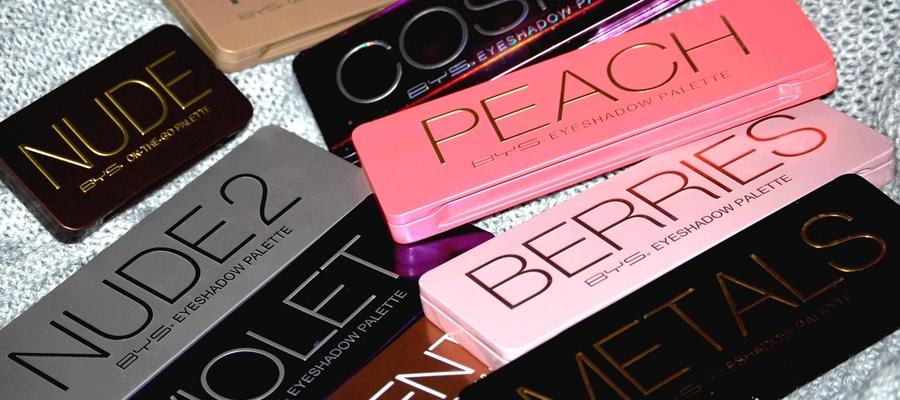 Les Palettes BYS Maquillage - Test & avis