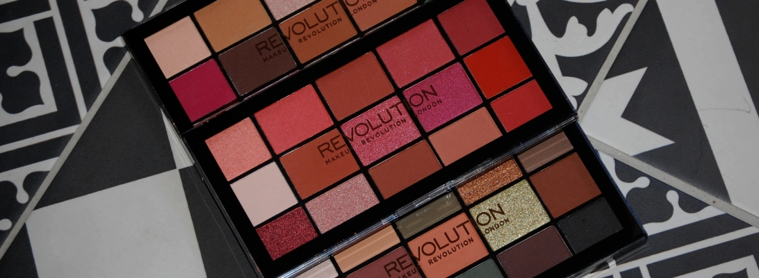 Les palettes Reloaded de Make Up Revolution :