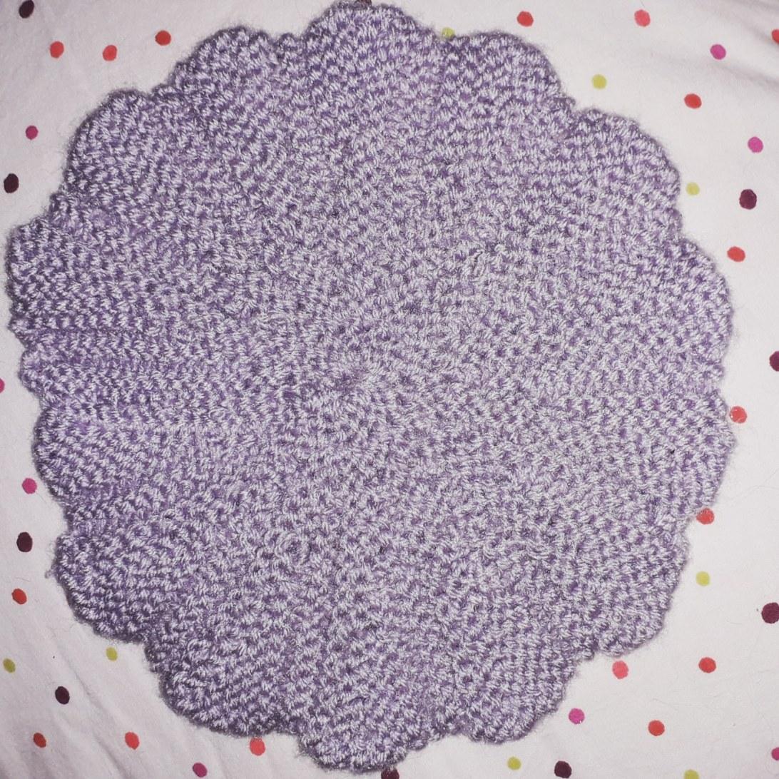 DIY Lavette Fleur Tricot
